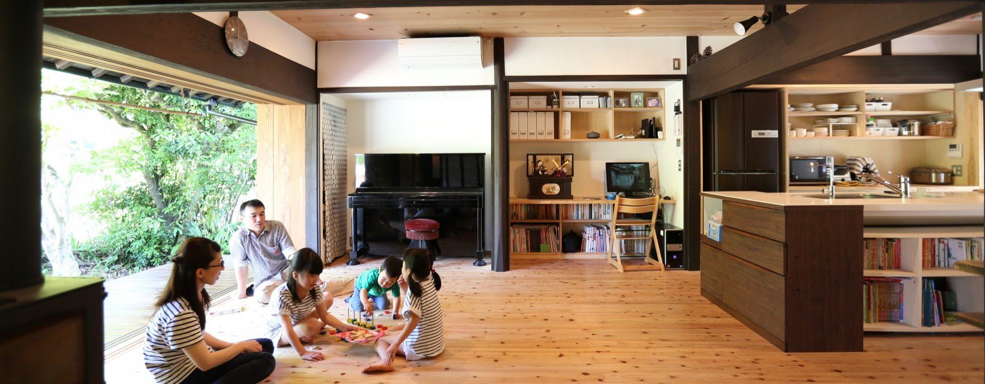 豊かな木の香りのなかで健康に暮らす。ワンランク上の木造住宅|木の家 グリーンハウス